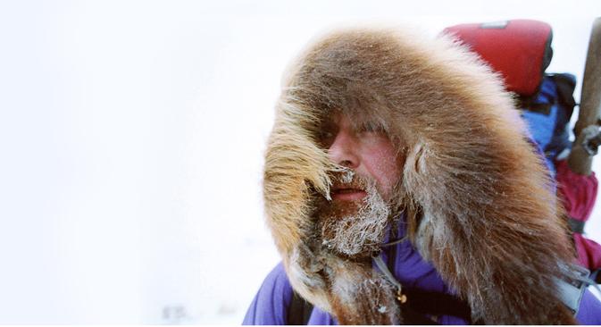 Russian traveler Fyodor Konyukhov.