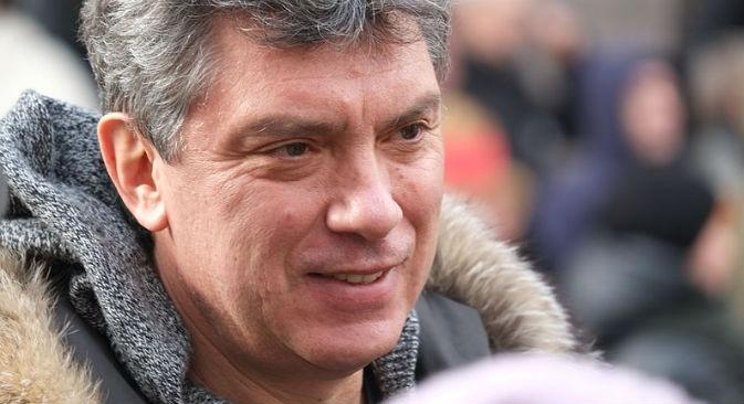 Il politico russo Boris Nemtsov, ucciso nel centro di Mosca da quattro spari (Foto: Ilia Shurov/wikipedia.org)