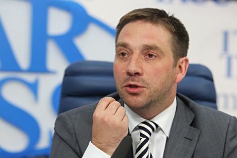 Sergei Belyakov, ex vice-ministro dell'Economia, organizzatore del Forum economico di Krasnoyarskv (Foto: Viktor Vasenin / RG)