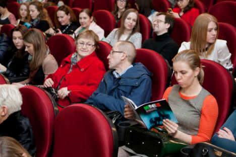 Il pubblico in sala (Foto: Anton Churochkin/Rbth)