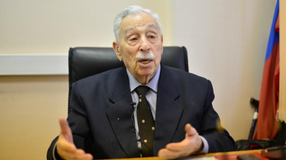 Mark Pavlovich, veterano di guerra (Foto: Vladimir Stakheev)