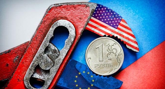 La moneta nazionale si sarebbe rafforzata grazie alla concomitanza di una serie di fattori positivi, tra cui la concessione da parte della Banca Centrale di prestiti valutari alle banche, l'abbassamento del tasso chiave dal 17 al 14%, e anche la riduzione della tensione in Ucraina (Foto: DPA/Vostock Photo)