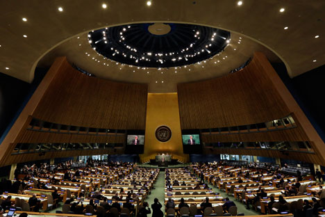 La conferenza di revisione del Trattato di Non Proliferazione Nucleare (Tnp) a New York (Foto: AP)