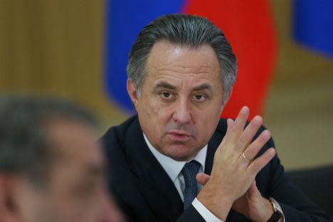 Il ministro russo dello Sport Vitaly Mutko (Foto: RG)