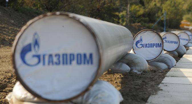 Gazprom prevede di dare inizio ai lavori di posizionamento di Turkish stream nella prima decade di giugno (Foto: TASS/ Alexei Fillipov)