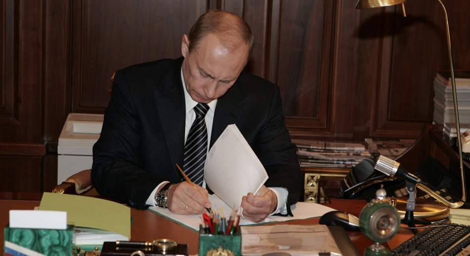 Il Presidente russo Vladimir Putin (Foto: Tass)