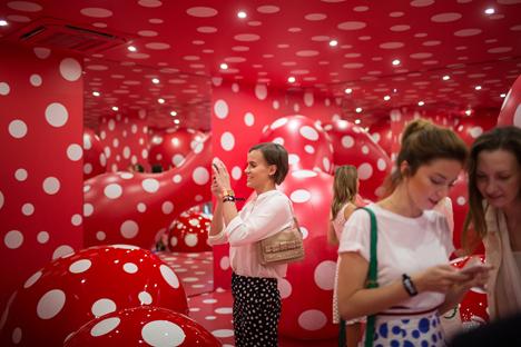 Una delle sale del nuovo Garage Museum of Contemporary Art (Foto: ufficio stampa)