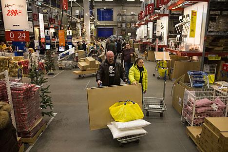 Il settore del retail in Russia risulta ancora attraente per gli investitori stranieri (Foto: AP)