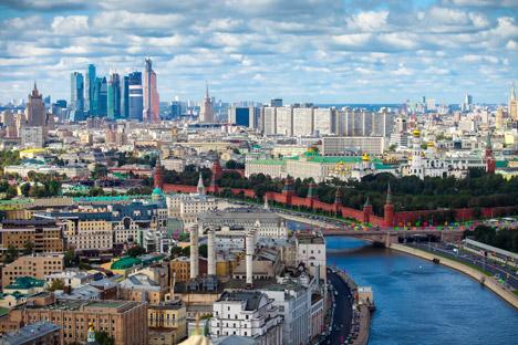Mosca vista dall'alto (Foto: Shutterstock / Legion Media)