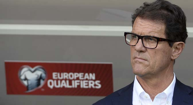 Mister Fabio Capello (Foto: Aleksandr Vilf / Ria Novosti)