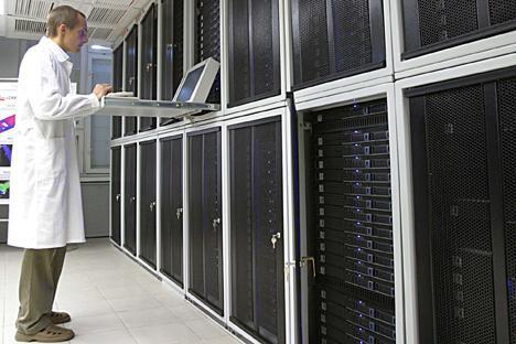 Il supercomputer universale è progettato per eseguire una vasta gamma di calcoli (Foto: Ria Novosti)