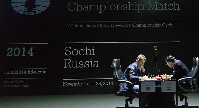 Torneo di scacchi (Foto: EPA)