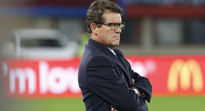 Mister Fabio Capello lascia la panchina della Nazionale di calcio russa (Foto: Mikhail Japaridze/TASS)