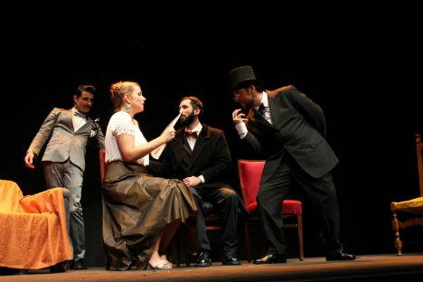 Una scena dello spettacolo (Foto: ufficio stampa)