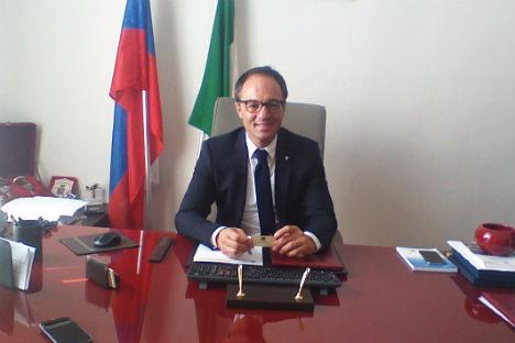 Vincenzo Schiavo, console onorario della Federazione Russa a Napoli (Foto: Nicola Sellitti)