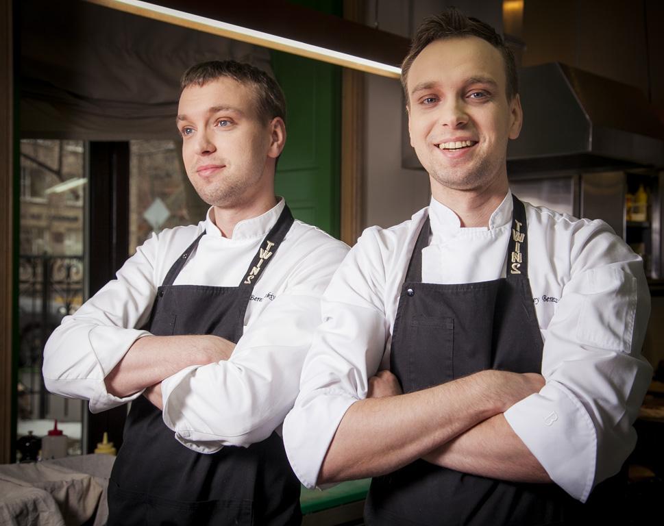 Gli chef Sergey e Ivan Berezutsky (Foto: Russia Expo 2015)