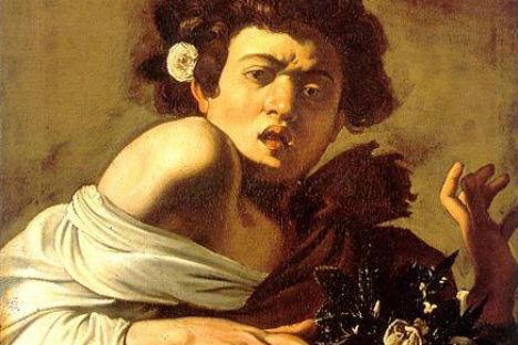 """Il quadro """"Fanciullo morso da un ramarro"""" esposto in anteprima nella sede dell'Ambasciata d'Italia a Mosca e in mostra, dal 14 settembre, al museo Pushkin"""