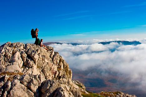 Scalatori sulle cime di questa Penisola (Foto: Shutterstock)