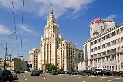 Il grattacielo vicino a Krasnye Vorota, a Mosca (Foto: Lori / Legion Media)
