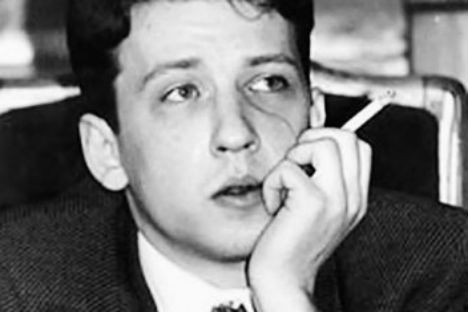 Il poeta Boris Ryzhy (Foto: Wikipedia)
