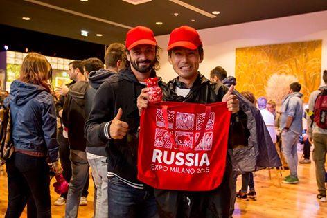 Atsushi Futakami insieme al pattinatore russo Ilya Averbukh