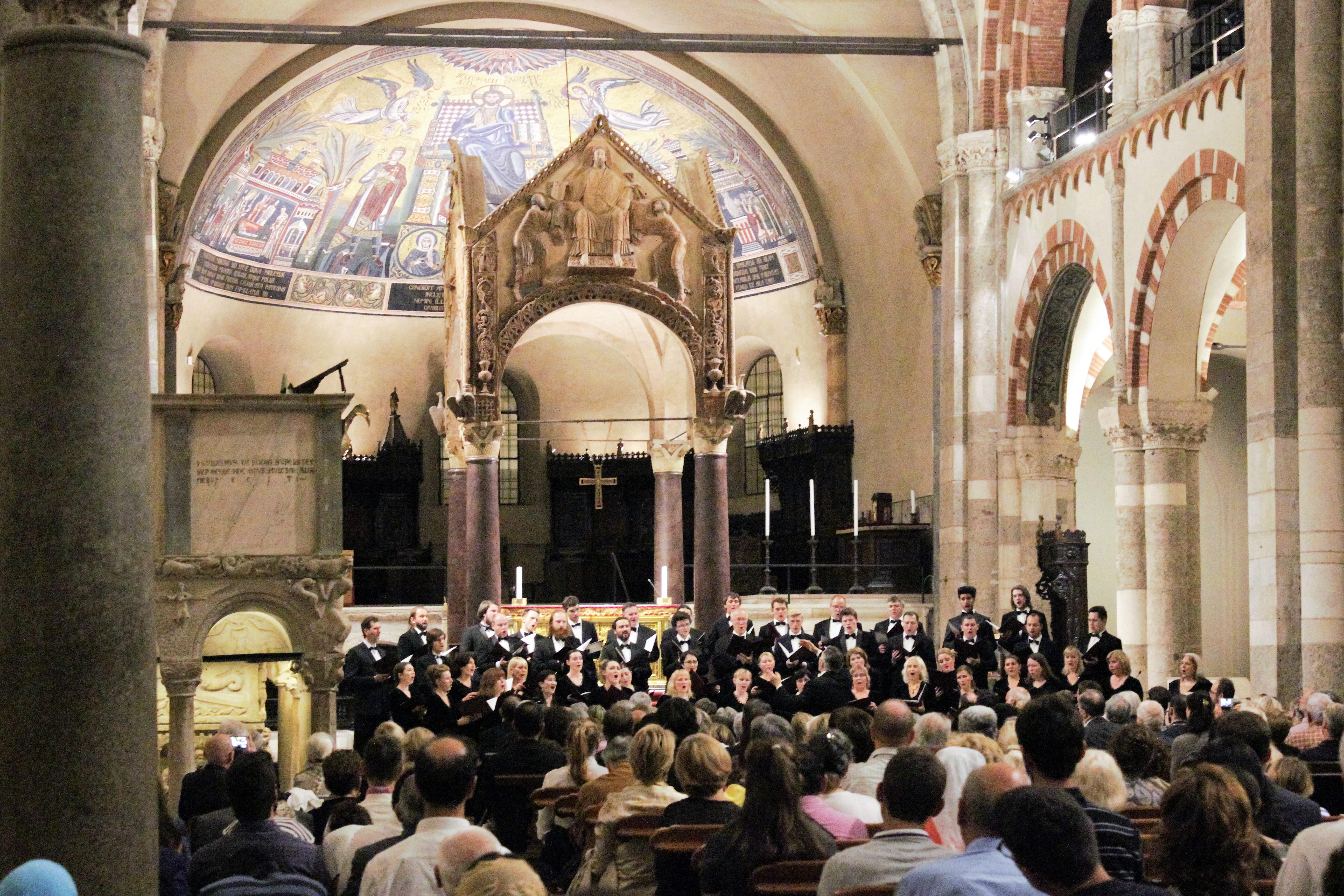 Il concerto del Coro Sinodale del Patriarcato di Mosca