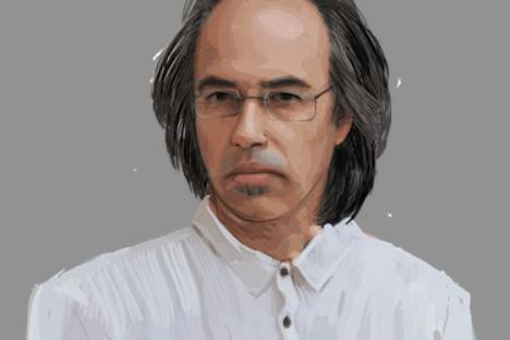 L'opinionista Mikhail Viesel ritratto da Nina Kabanova
