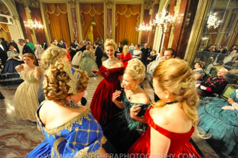 L'edizione 2014 del Gran Ballo Russo.
