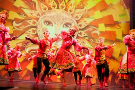 Balli popolari russi.