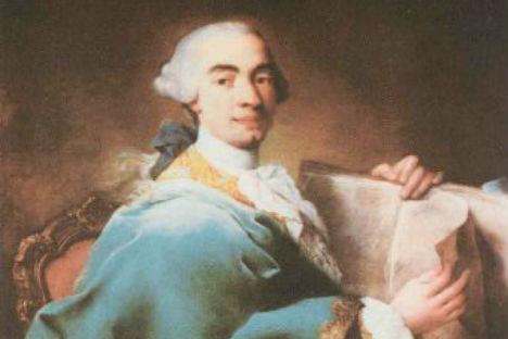 Ritratto di Domenico Cimarosa realizzato da Alessandro Longhi