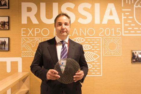 Georgy Kalamanov, commissario generale della sezione russa a Expo