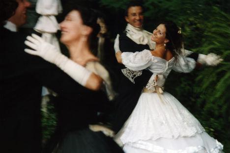 Una delle passate edizioni del Gran Ballo Russo.