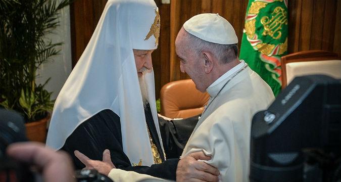 Lo storico incontro tra il Patriarca Kirill e Papa Francesco all'Avana.