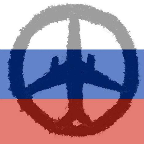 Il simbolo di pace e solidarietà disegnato dal trevigiano Davide Busetto