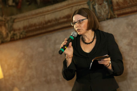 Irina Dvizova, insegnante di lingua russa e collaboratrice del Centro russo di scienza e cultura di Roma