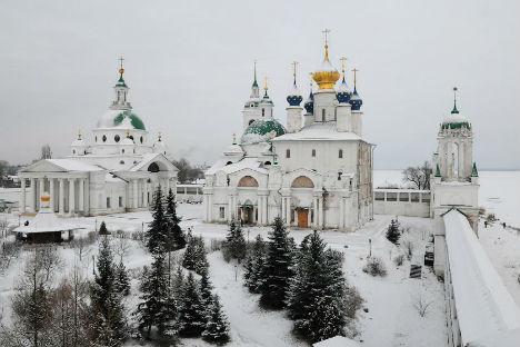 La città di Suzdal in inverno.