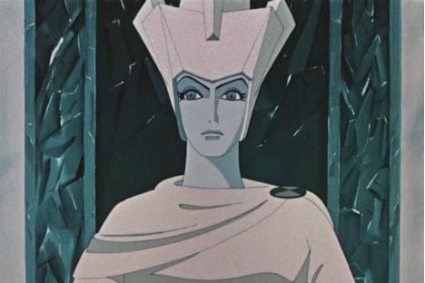 La regina di neve.