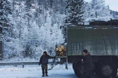 Yakutsk, città a 50 gradi sotto zero