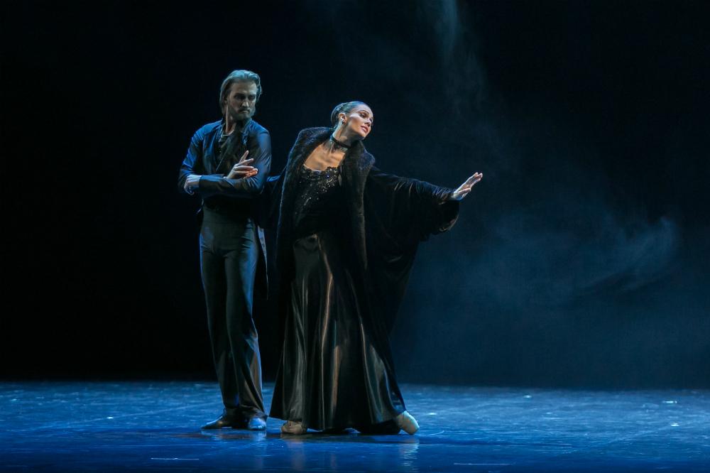 """Nella sua carriera Mariya Abashova ha interpretato Anna Karenina circa 200 volte. In questa foto, una scena del balletto """"Anna Karenina"""" del Boris Eifman Ballet"""