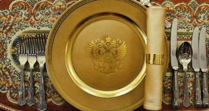 Il piatto del Presidente Putin fotografato da Davide Monteleone