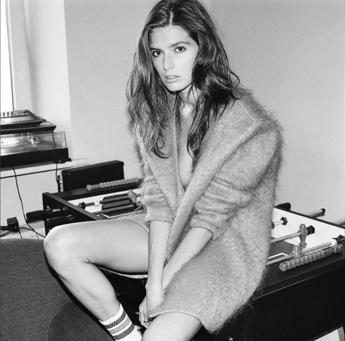 Daria Malygina è la prima modella di San Pietroburgo ad aver prestato il volto ai  marchi di moda stranieri Prada e Miu Miu