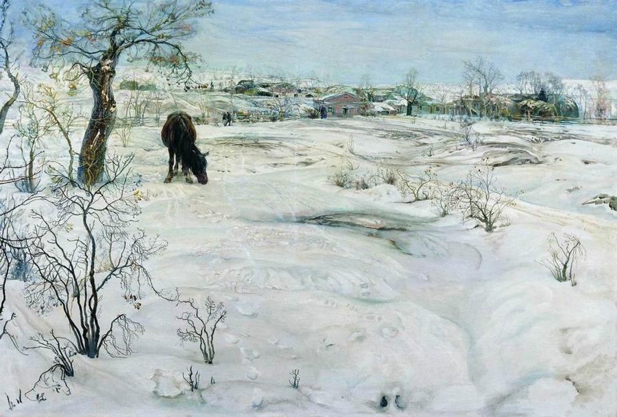 "Isaak Brodskij, ""Inverno"" (1922)"