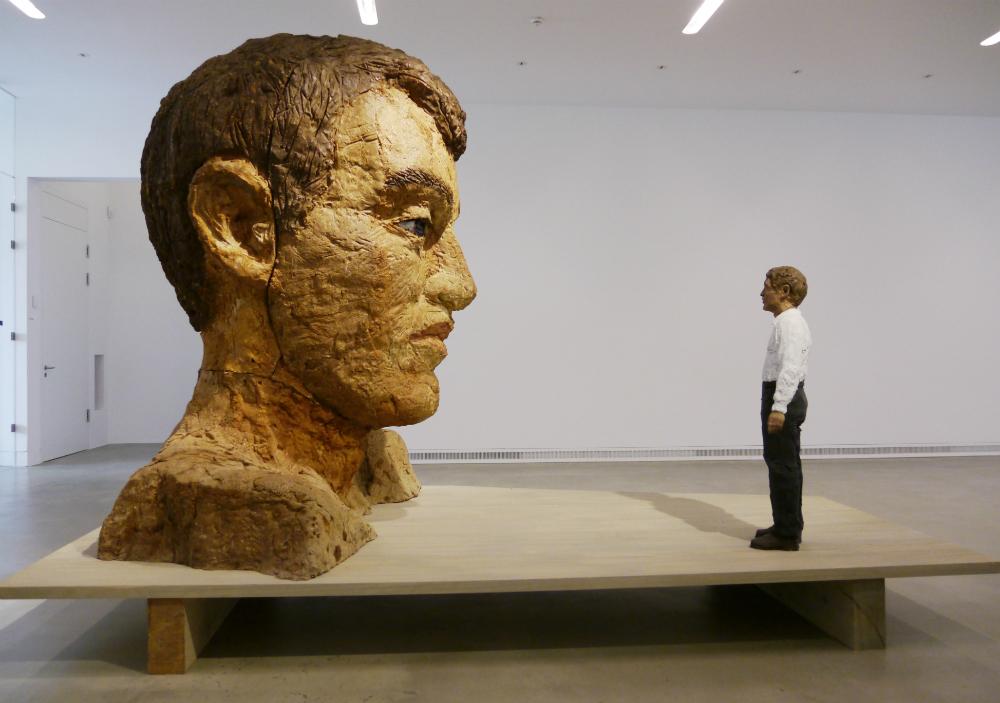 Grande testa di Stefan Balkenhol