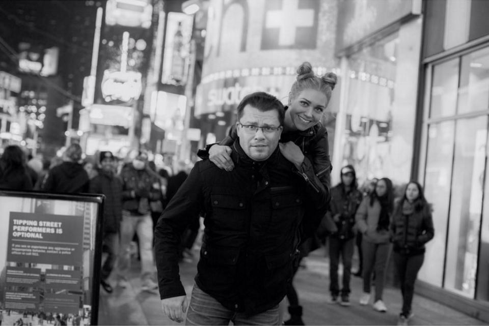 La love story con l'attore e sceneggiatore Garik Kharlamov ha suscitato un grande scandalo: per Kristina, infatti, Kharlamov ha lasciato la moglie. La coppia si è sposata nel 2013 e l'anno successivo è nata la loro prima figlia Anastasia