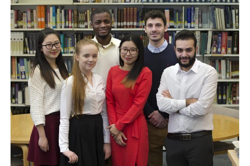 Studenti stranieri ai corsi di lingua russa.