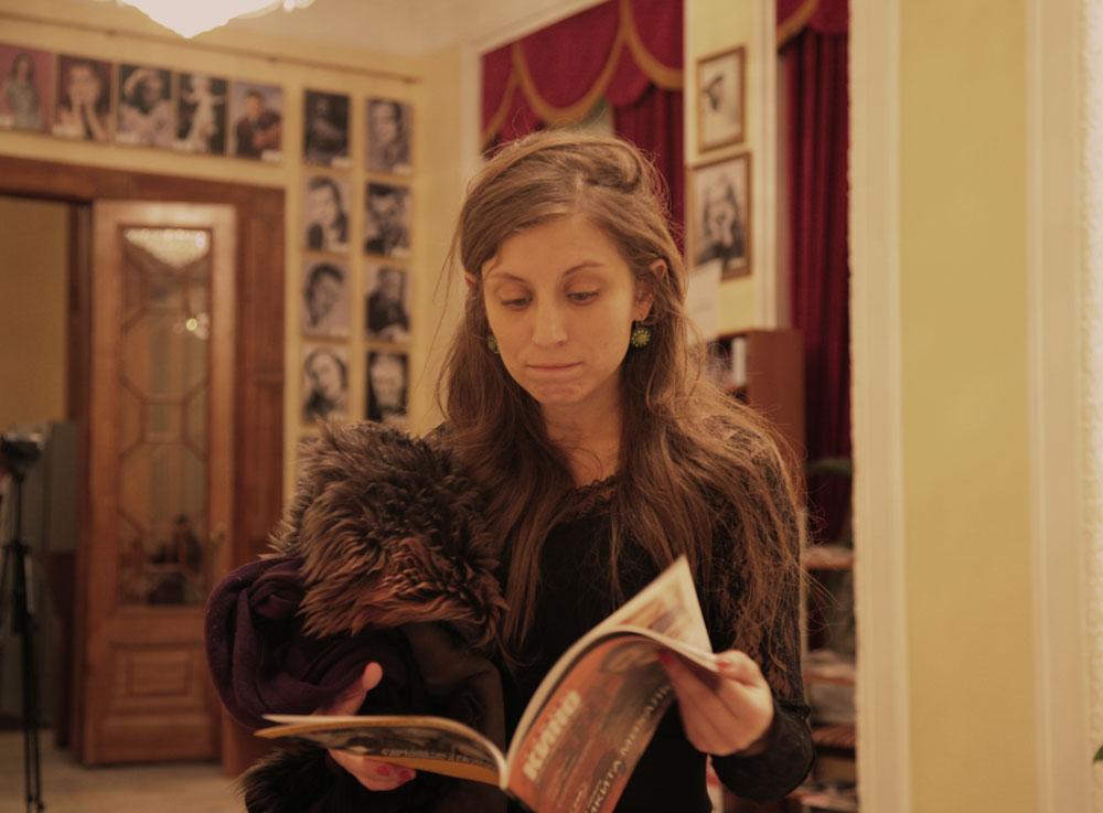 """Irene Muscara, attrice: """"Io sono un'attrice italiana e ovviamente i film della Mostra del cinema di Venezia sono per me estremamente interessanti"""""""
