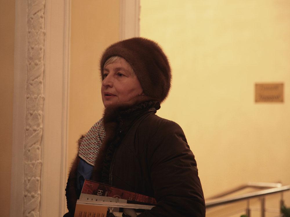 """Raisa Rodina, avvocato in pensione: """"È una bella cosa che abbiano scelto di realizzare il festival proprio al cinema Illusion. Ormai esco poco di casa, ma sono una grande appassionata di cinema italiano. Il film secondo me è stato totalmente all'altezza delle mie aspettative, anche di più"""""""