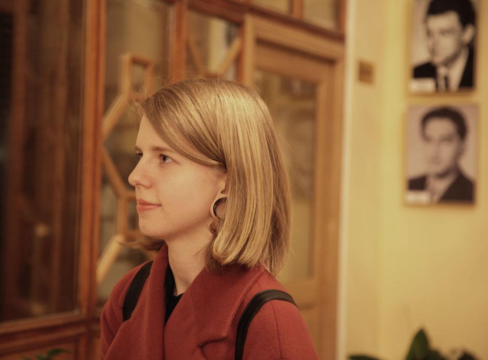 """Daria Zhidkova, critico d'arte: """"Non mi ero creata particolari aspettative, ma pensavo che il film che ho visto, 'Per amor vostro', sarebbe stato più lineare. In generale non mi ha impressionato molto"""""""