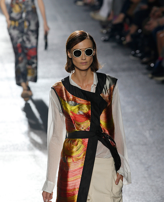 Collezione donna primavera-estate 2014, Dries van Noten