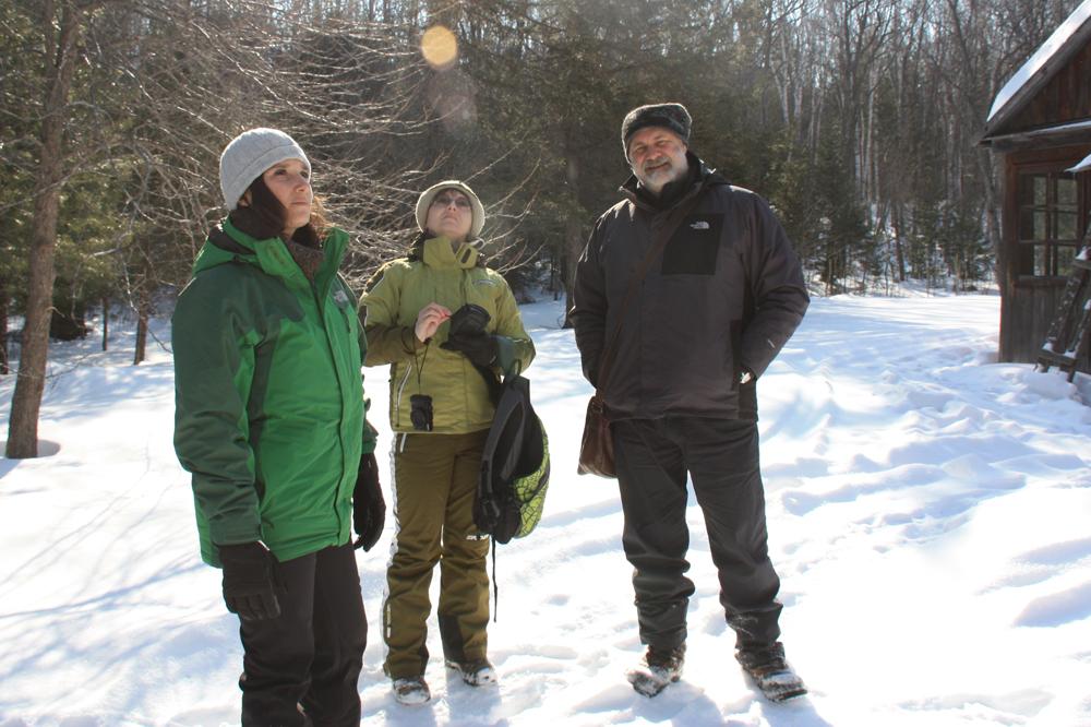Insieme ai colleghi dell'Universitu00e0 di Vladivostok nelle foreste a nord della cittu00e0 dove sono state installate due stazioni di monitoraggio